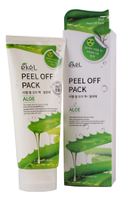 Ekel Маска-пленка для лица с экстрактом алоэ Peel Off Aloe Pack 180мл