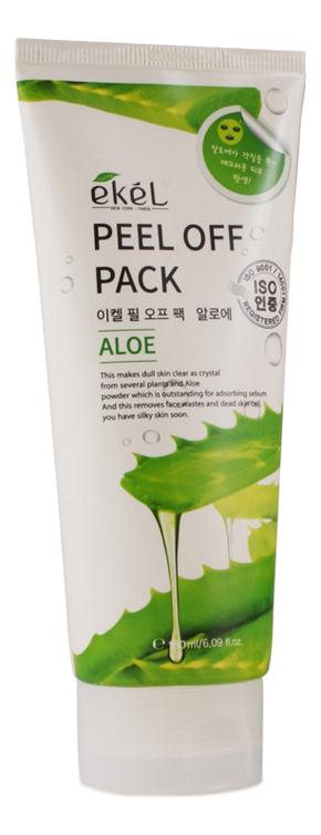 Купить Маска-пленка для лица с экстрактом алоэ Peel Off Aloe Pack 180мл, Ekel