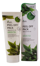Ekel Маска-пленка для лица с экстрактом зеленого чая Peel Off Green Tea Pack 180мл