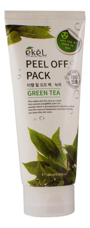 Маска-пленка для лица с экстрактом зеленого чая Peel Off Green Tea Pack 180мл недорого