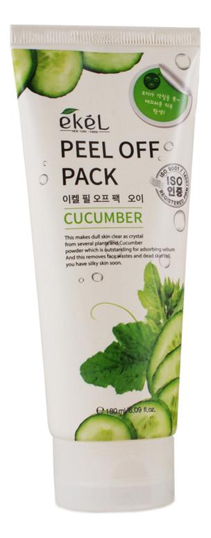 Маска-пленка для лица с экстрактом огурца Peel Off Cucumber Pack 180мл фото