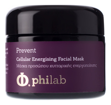 Philab Маска для лица тонизирующая Prevent Cellular Energising Facial Mask 50мл