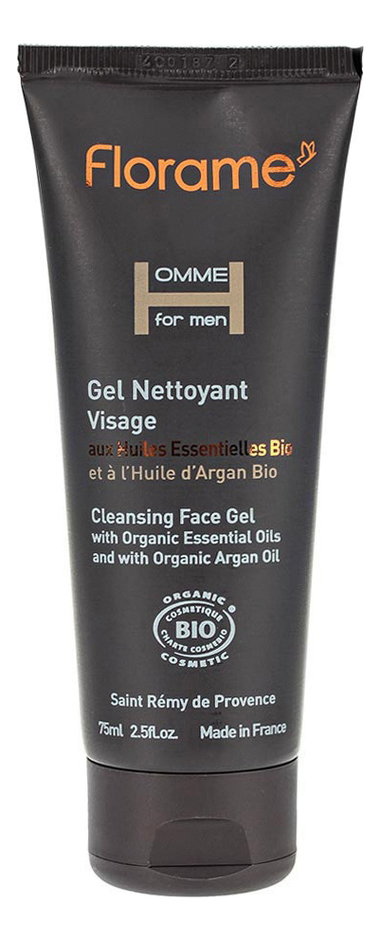 Очищающий гель для лица Homme Gel Nettoyant Visage 75мл гель скраб для лица gel exfoliant doux visage 75мл