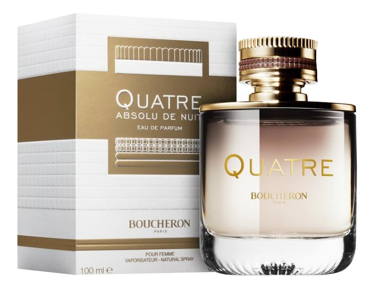 Купить Quatre Absolu De Nuit Pour Femme: парфюмерная вода 100мл, Boucheron