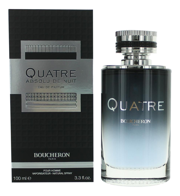 Купить Quatre Absolu De Nuit Pour Homme: парфюмерная вода 100мл, Boucheron