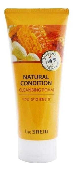 цена на Пенка для умывания очищающая Natural Condition Cleansing Foam Double Whip 150мл