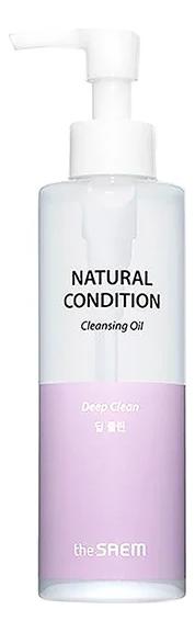 Гидрофильное масло для глубокого очищения кожи Natural Condition Cleansing Oil Deep Clean 180мл engrained engrained deep rooted