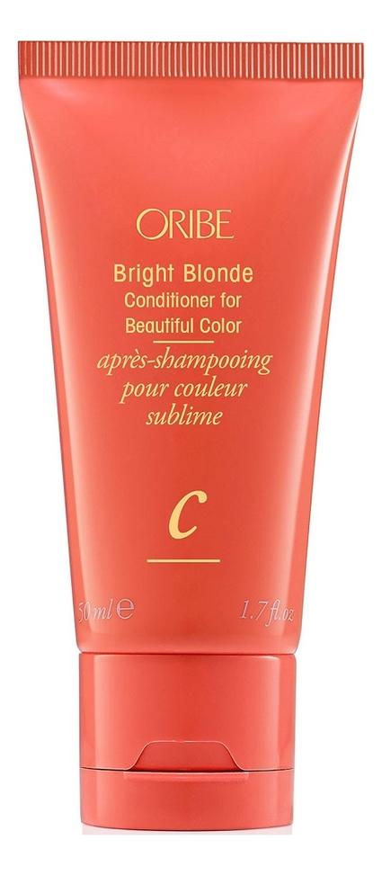 Кондиционер для светлых волос Bright Blonde Conditioner For Beautiful Color: 50мл