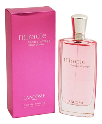 Lancome Miracle Tendre Voyage: туалетная вода 75мл lancome miracle secret отливант парфюмированная вода 18 мл