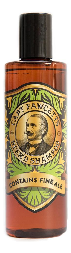 Купить Шампунь для бороды Beer'd Shampoo 250мл, Captain Fawcett