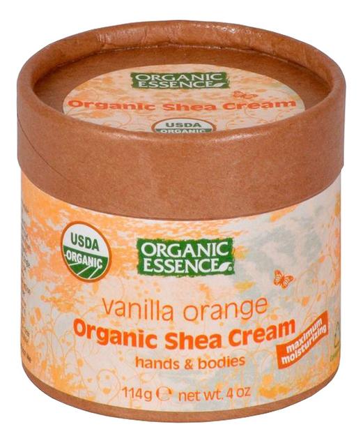 Органический крем для рук и тела Organic Shea Cream Vanilla Orange 114г (ваниль и апельсин) крем для рук ваниль и пион vanilla blush