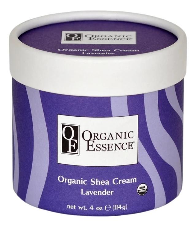 Органический крем для рук и тела Organic Shea Cream Lavender 114г (лаванда) цена 2017