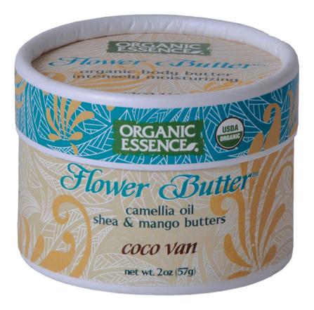 цена на Органический цветочный крем для лица Flower Butter Coconut Vanilla 57г (кокос-ваниль)