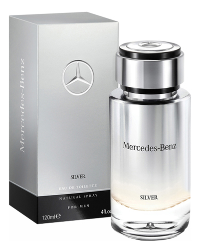 Mercedes-Benz Silver For Men: туалетная вода 120мл