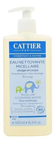 Купить Лосьон очищающий с маслом миндаля и флоральной водой Bebe Eau Nettoyante Micellaire 500мл, CATTIER