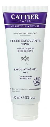 Гель-скраб для лица Мгновенное сияние Grains de Lumiere Gelee Exfoliante Visage 75мл гель скраб для лица gel exfoliant doux visage 75мл