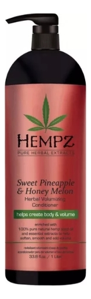Кондиционер для придания объема волосам Sweet Pineapple & Honey Melon Herbal Volumising Conditioner (ананас и медовая дыня): Кондиционер 1000мл