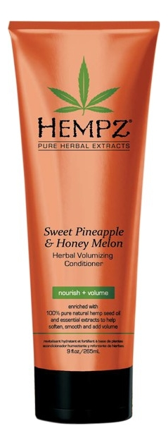 Кондиционер для придания объема волосам Sweet Pineapple & Honey Melon Herbal Volumising Conditioner (ананас и медовая дыня): Кондиционер 265мл