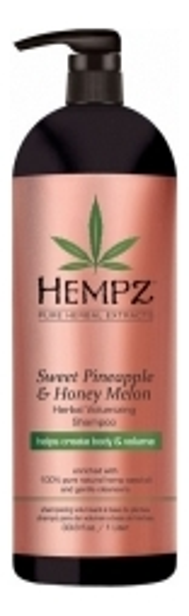 Шампунь для придания объема волосам Sweet Pineapple & Honey Melon Herbal Volumizing Shampoo (ананас и медовая дыня): Шампунь 1000мл