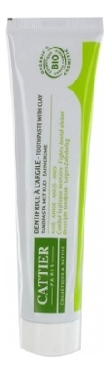 Зубная паста против налета и камня Dentifrice A L'argile Anis 75мл (анис)