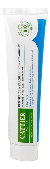 Купить Зубная паста для защиты десен Dentifrice A L'argile Propolis 75мл (прополис): Зубная паста 75мл, Зубная паста для защиты десен Dentifrice A L'argile Propolis (прополис), CATTIER