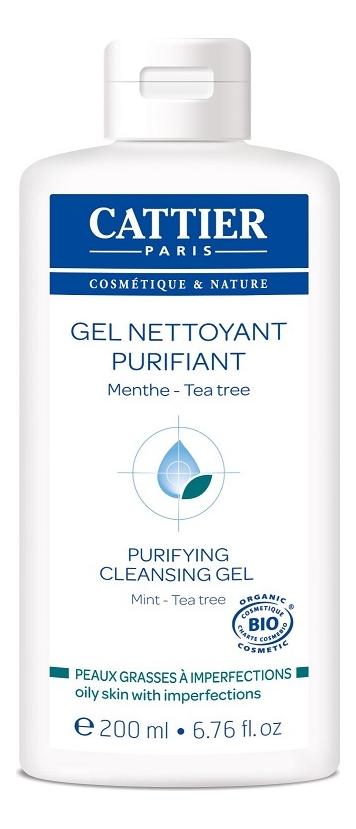 Гель для проблемной кожи с маслом мяты и чайного дерева Imperfections Gel Nettoyant Purifiant 200мл noreva exfoliac gel doux nettoyant purifiant