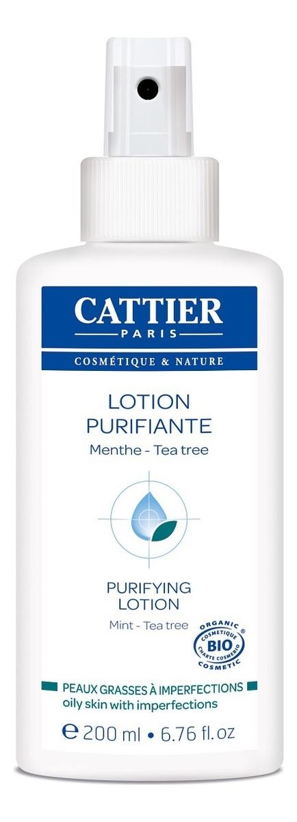 Тоник для проблемной кожи лица с маслом мяты и чайного дерева Lotion Purifiante 200мл крем для лица cattier cattier ca061lwflk64