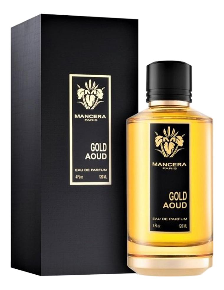 Mancera Gold Aoud: парфюмерная вода 120мл парфюмерная вода mancera mancera ma163luurm30