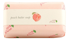 100% Pure Крем-мыло Peach Butter Soap 127г (персик)