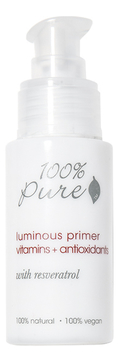 Основа под макияж Luminous Primer Vitamins + Antioxidants 30мл