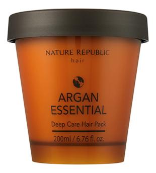 Укрепляющая маска для волос Argan Essential Deep Care Hair Pack 200мл