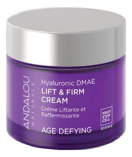 Купить Активный лифтинг-крем для лица с гиалуроновой кислотой Hyaluronic Dmae Lift & Firm Cream Age Defyng 50мл, Активный лифтинг-крем для лица с гиалуроновой кислотой Hyaluronic Dmae Lift & Firm Cream Age Defyng 50мл, Andalou Naturals
