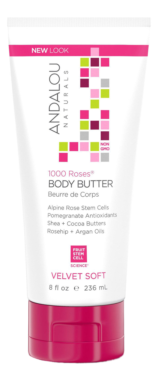 Бархатное масло для тела 1000 Roses Body Butter Beurre De Corps Velvet Soft 236мл