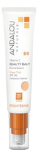 Andalou Naturals BB крем-бальзам для лица Brightening BB Vitamin C Beauty Balm  Baume Beaute Sheer Tint SPF30 58мл