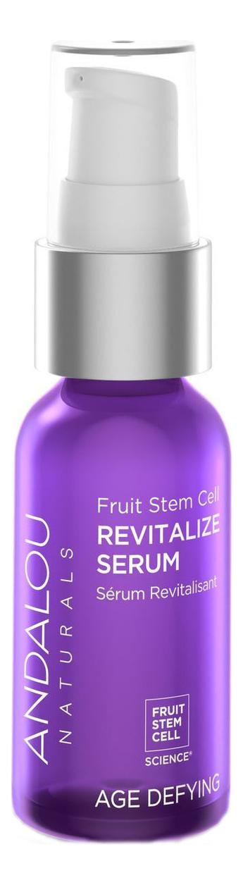 Купить Восстанавливающая сыворотка для лица Age Defying Fruit Stem Cell Revitalize Serum 32мл, Andalou Naturals