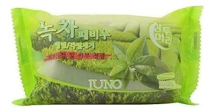 Купить Мыло-скраб с экстрактом зеленого чая Sangtumeori Peeling Soap Green Tea 150г, JUNO