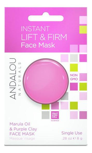 Маска для лица подтягивающая Instant Lift & Firm Face Mask Marula Oil Purple Clay (масло марулы и пурпурная глина): 8г