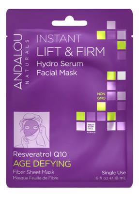 Маска-сыворотка для лица подтягивающая Age Defying Instant Lift & Firm Hydro Serum Facial Mask Resveratrol Q10: Маска 18мл