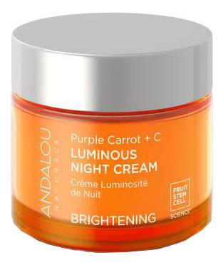 Ночной осветляющий крем для лица Brightening Purple Carrot + C Luminous Night Cream 50мл