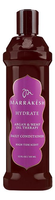 Купить Кондиционер для волос укрепляющий Hydrate Daily Conditioner High Tide Scent: Кондиционер 355мл, Marrakesh