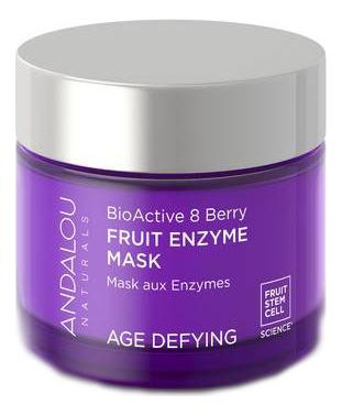 Купить Отшелушивающая фруктовая маска для лица Age Defying BioActive 8 Berry Fruit Enzyme Mask 50мл, Andalou Naturals