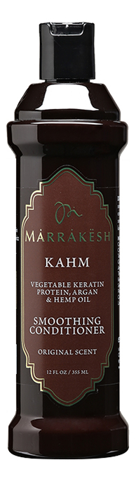 Купить Кондиционер для волос с кератином Kahm Smoothing Conditioner Original Scent: Кондиционер 355мл, Marrakesh