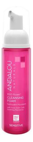 Купить Очищающая пенка для лица Sensitive 1000 Roses Cleansing Foam 163мл, Andalou Naturals