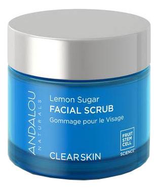 Скраб для лица с сахаром и лимоном Clear Skin Lemon Sugar Facial Scrub 50мл