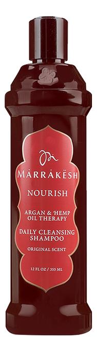 Купить Шампунь для волос увлажняющий Nourish Daily Cleansing Shampoo Original Scent: Шампунь 355мл, Marrakesh