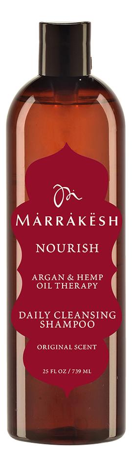 Купить Шампунь для волос увлажняющий Nourish Daily Cleansing Shampoo Original Scent: Шампунь 739мл, Marrakesh