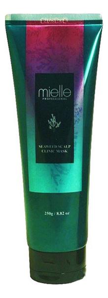 Маска для волос и кожи головы с экстрактом морских водорослей Seaweed Scalp Clinic Mask 250мл недорого