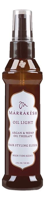 Легкое масло для волос укрепляющее Oil Light Hair Styling Elixir High Tide Scent 60мл orofluido ультра легкое сухое масло light shimmering elixir 55 мл