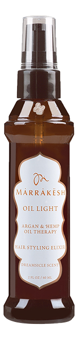 Легкое масло для тонких волос Oil Light Hair Styling Elixir Dreamsicle Scent 60мл orofluido ультра легкое сухое масло light shimmering elixir 55 мл