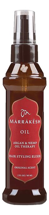 Купить Масло для волос Oil Hair Styling Elixir Original Scent: Масло 60мл, Marrakesh